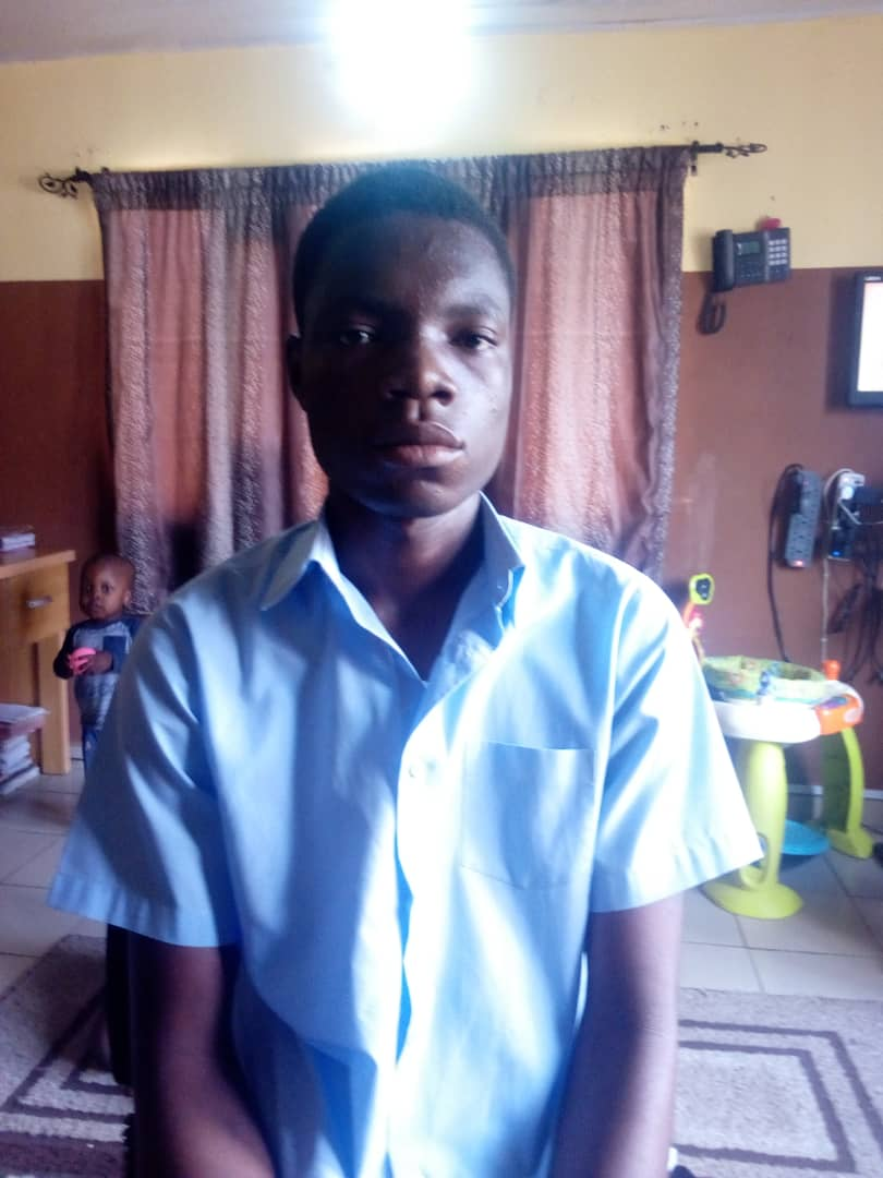 MR. ANTHONY OBAH ( SECURITY ASSISTANT)