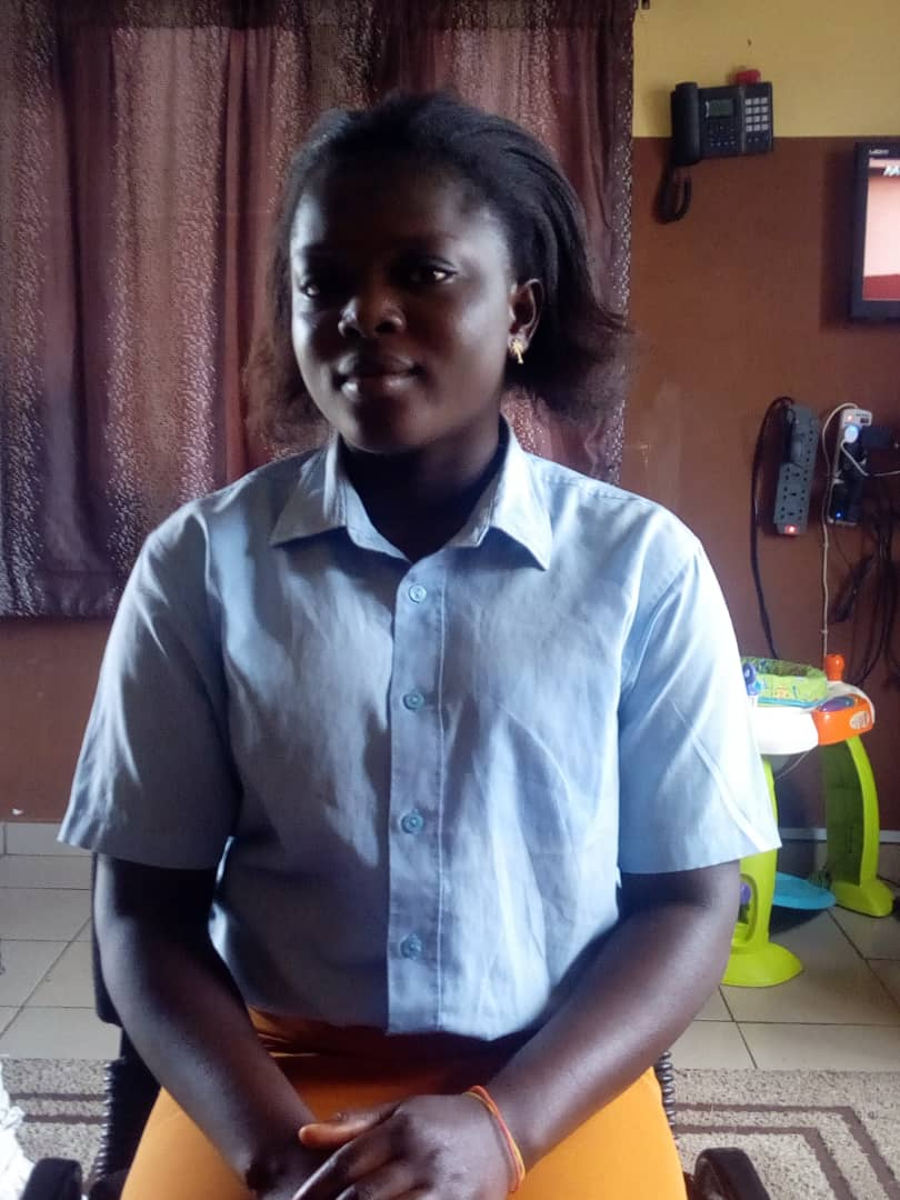 MS BLESSING ANDIKWU (CARE GIVER BOYS ROOM)